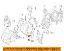 MERCEDES OEM 12-18 CLS550 Rear Seat-Child Seat Bracket Cover 21892000868N84