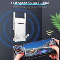 2100Mbps WiFi Range Extender Repeater 5G Dual bandWireless Router Signal Booster