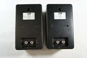 CANTON PLUS S 2-WAY SPEAKERS ONE PAIR BLACK, Made in Germany, Fast 2-3 days ship