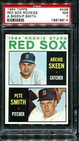1964 Topps Baseball #428 BOSTON RED SOX ROOKIE STARS RC PSA 7 NM