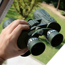 10 X 50 Power Zoom Adjustable Binocular Telescope Military Marine Coated Outdoor