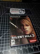 SILENT HILL 3 PS2 COMPLETE(DISC+CASE+MANUAL+SOUNDTRACK)TESTED WORKING MINOR WEAR