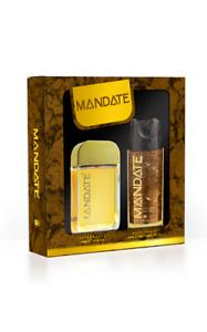 Mandate Gift Set - 100ml Aftershave Splash & 150ml Body Spray