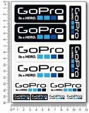GoPro action camera Laminated stickers decals car bike surf go pro graphics