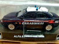 Alfa Romeo 156 1999 Carabinieri - Scala 1:43 - Atlas - Nuovo