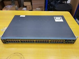 Cisco Catalyst WS-C2960S-48TS-L 48 Port 1Gbps Layer 2 Switch With Stack Module