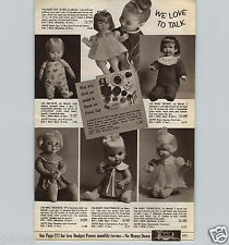 1967 PAPER AD Mattel Doll Drowsy Baby Secret Mrs. Beasley Teenietalk Chatterbox