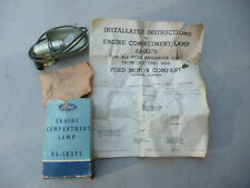 NOS Ford 1937 To 55 accessory engine compartment lamp 6V part # 8A-18375