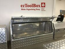 Half Side Opening Recessed Door Truck Ute Toolbox 1700x550x800 Aluminium Toolbox
