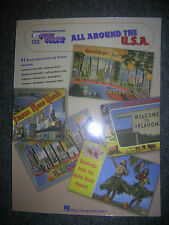 EZ PLAY Songbook #135 All Around The U.S.A. ~ Look ~ OUT OF PRINT EZ PLAY TITLE
