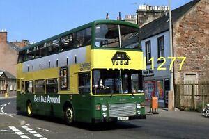 6x4 Bus colour photograph Lowland Scottish Olympian ALS116Y