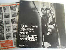 Rolling Stones December's Children LP MONO original US 1966