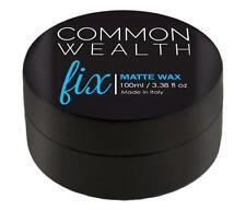 Common Wealth Fix Matte Wax Hair Pomade Cashew Oil Fiber Hold Paste Gel Crew Men