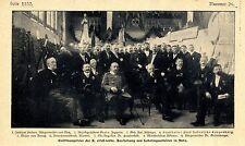 10. Alsace-Lothr. exposition de apprenti travaux dans Metz document illustré 1907