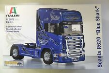 ITALERI 1:24 KIT CAMION TRUCK SCANIA R620 BLUE SHARK LUNGHEZZA 24,2 CM  ART 3873