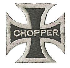 Patch écusson patche CHOPPER motard biker hotfix brodé thermocollant