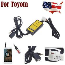 Car Aux-input Adapter MP3 Radio Interface for Toyota Camry Corolla 4Runner C9O4