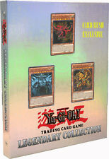 Yugioh PROMO Legendary God Card Set - Gift collection 5 promos + 6 booster packs