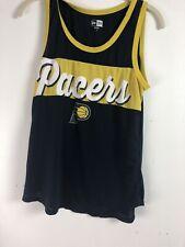 New Era Indiana Pacers tank top shirt sz XL-yellow and navy Ad5
