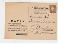 germany 1932 stamps card  ref 18897