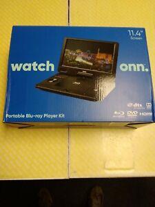 """ONN Portable Blu-ray Player Kit 11.4"""" Screen"""