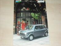 63233) Rover Mini Prospekt 05/1987