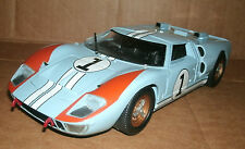 1/18 Scale 1966 Ford GT40 MkII LeMans Diecast Race Car #1 Universal Hobbies 3039