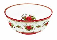 EasyLife Spirit of Christmas 4 Bowl Set in Porcelain