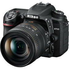 Nikon D7500 Wi-Fi 4K Hd Digital Slr Camera & 16-80mm Vr Dx Lens