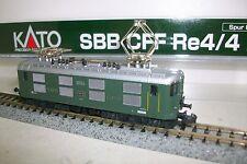 N  KATO 11603 / Locomotora SBB CFF Re 4/4 I  nº10024 verde.