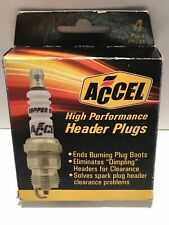 Accel 0574S-4 Shorty Spark Plug, 5/8 Hex, .460 Reach Tapered 4/Pk