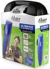 New Oster Animal Care Ultimate Clipper Kit Advanced Clipper W/Case DVD Quiet