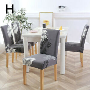 1Pcs Universal Elastic Floral Printing Spandex Chair Cover Home Hotel Decor