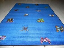Educational Rug  Schools - Day Care  Kids Room. 6'6'' x 8' Kritters Broadloom.