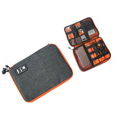 Universal Storage Accessories Travel Organiser for iPad/iPhone/Cable S Grey