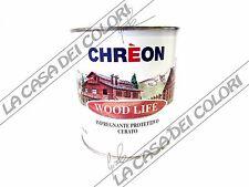 CHREON - WOOD LIFE IMPREGNANTE CERATO - INCOLORE - 0,750 lt - PER LEGNO