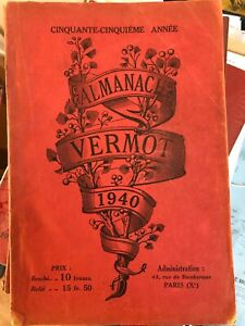 ALMANACH VERMOT 1940