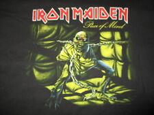 "Hanes Label - Retro 2005 IRON MAIDEN ""Piece of Mind"" Concert Tour (XL) T-Shirt"
