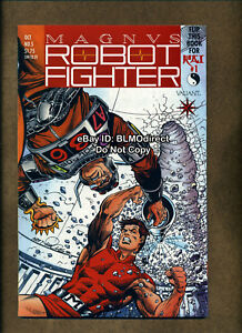 1991 Magnus Robot Fighter #5 NM- 1st App Rai Valiant Pre-Unity w/Coupon