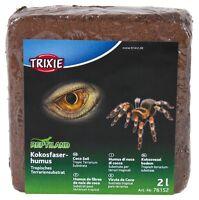 Coco Soil Tropical Terrarium Vivarium Reptile Substrate Expands to 2 litre