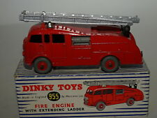 Dinky 955 Fire Engine With Extending Ladder, Near Mint Condition in Original Box
