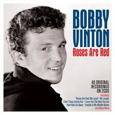 Bobby Vinton Roses are Red 40 Original Recordings On 2 CDs