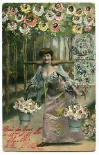CPA - Carte Postale - Fantaisie - Femmes - Bébés - 1907 (C8626)