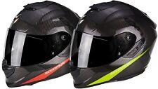 Scorpion Exo-1400 Carbon Air Pure Motorradhelm Integralhelm Sport Sturzhelm