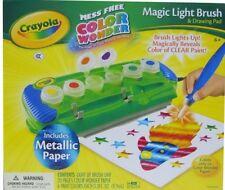 BRAND NEW! Crayola Color Wonder Magic Light Brush with Metallic Paper