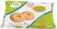 12 x Fazzi Dolce Benessere Senza Uova Burro e Latte aggiunti con RISO (12 conf.)