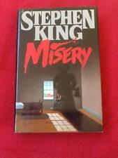 MISERY STEPHEN KING first edition first printing 1987 like new hc dj