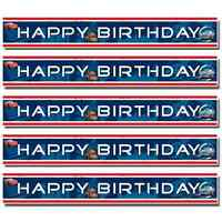 Disney Cars 4.65m Foil Happy Birthday Party Banner | Decoration 1-5pk