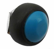 New Blue OFF (ON) Push Button Horn Switch Horn Button