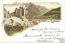 GRUSS AUS LIENZ (AUSTRIA) 1898